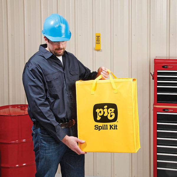 PIG® Spill Kit in High-Visibility Bag - KIT220