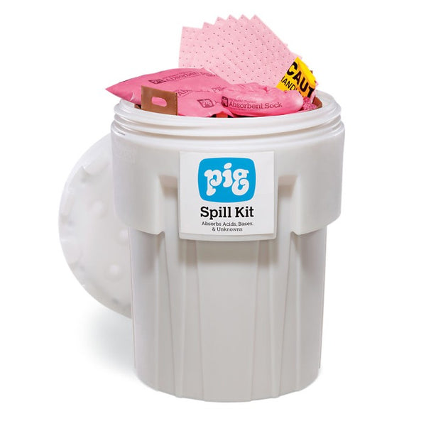 PIG® HazMat Spill Kit in a 360L Overpack Salvage Drum - KIT302-999