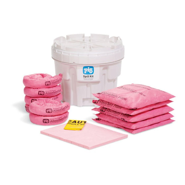 PIG® HazMat Spill Kit in a 76L Overpack Salvage Drum - KIT311