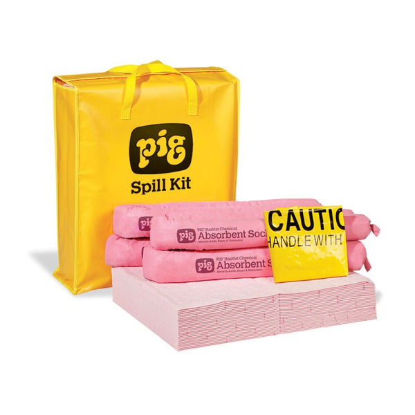 PIG® HazMat Spill Kit in High-Visibility Bag - KIT320