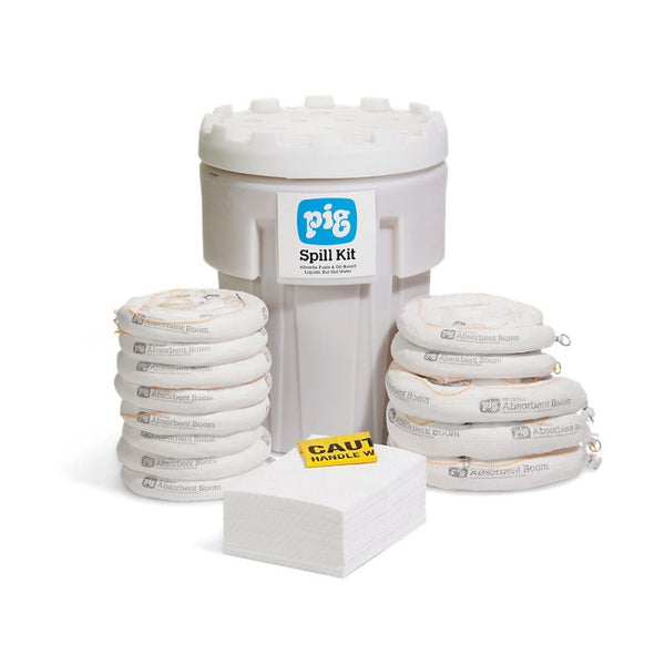 PIG® Oil-Only Spill Kit in a 360L Overpack Salvage Drum - KIT402-999