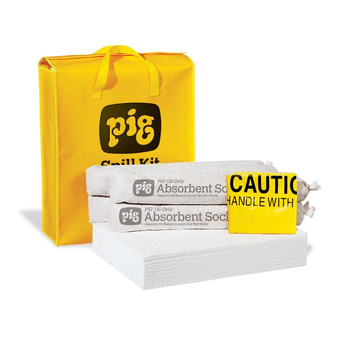 Pig 174 Oil Only Spill Kit In High Visibility Bag Kit420
