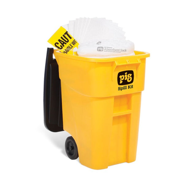 PIG® Oil-Only High-Visibility Mobile Container Kit - KIT469