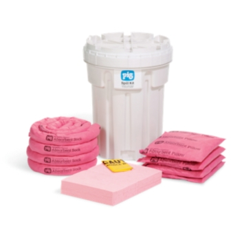 PIG® HazMat Spill Kit in 115-Liter Overpack Salvage Drum - KIT336