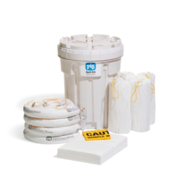 PIG® Oil-Only Spill Kit in 115-Liter Overpack Salvage Drum - KIT436