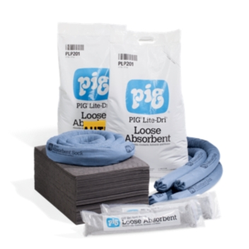 Refill for PIG® Spill Kit in Large Mobile Container - KIT259
