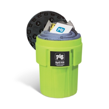 PIG® Spill Kit in 246-Liter High-Visibility Container - KIT263