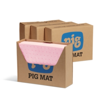 PIG® HazMat Chemical Absorbent Mat Pad in Bench Box® Dispenser - MAT3510
