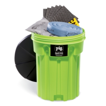 PIG® Spill Kit in 115-Liter High-Visibility Container - KIT245