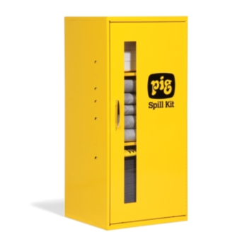 PIG® Spill Kit in Small Wall-Mount Cabinet - KIT215
