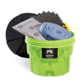 PIG® Spill Kit in 76-Liter High-Visibility Container - KIT264