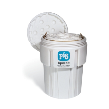 PIG® Oil-Only Spill Kit in 360-Liter Overpack Salvage Drum - KIT402