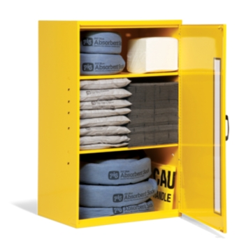 PIG® Spill Kit in Large Wall-Mount Cabinet - KIT228