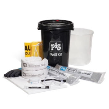PIG® Oil-Only Truck Spill Kit in Bucket - KIT631