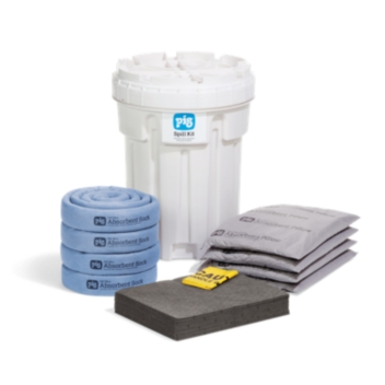 PIG® Spill Kit in 115-Liter Overpack Salvage Drum - KIT236