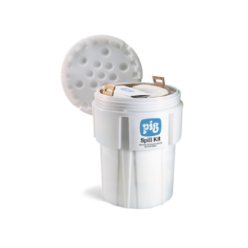 PIG® Oil-Only Spill Kit in 246-Liter Overpack Salvage Drum - KIT443