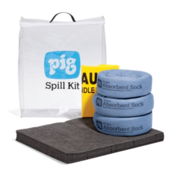 PIG® Spill Kit in See-Thru Bag - KIT274