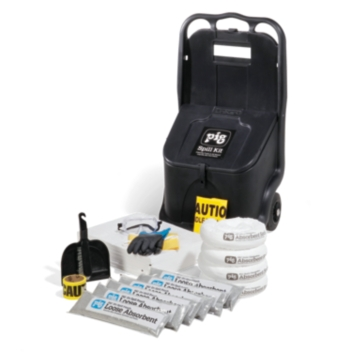 PIG® Fuel Station Spill Kit in Cart - KIT4001