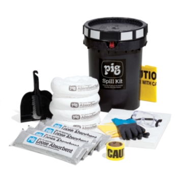 PIG® Fuel Station Spill Kit in Bucket - KIT4000