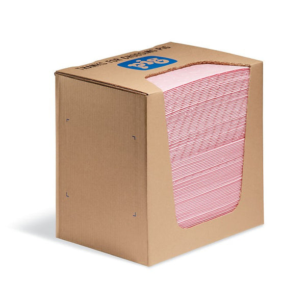 PIG® HazMat Pads in a Dispenser Box - MAT351