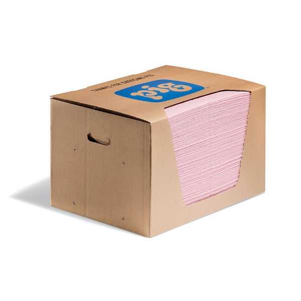 PIG® HazMat Pads in a Dispenser Box - MAT354