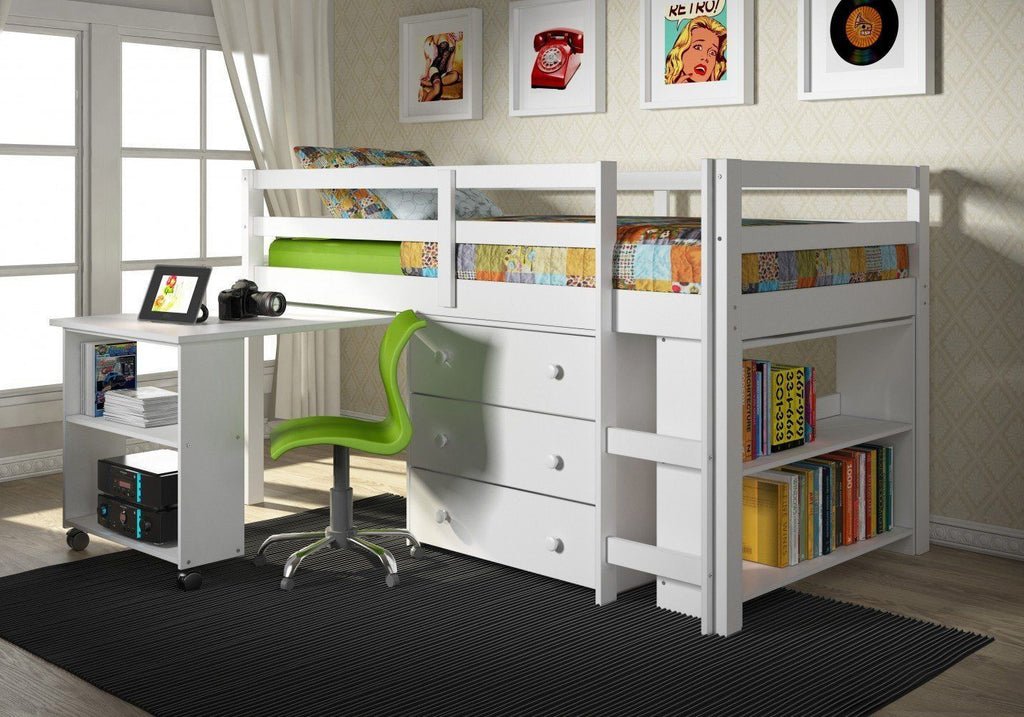 Custom Loft Beds With Desks For Kids Custom Kids Furniture