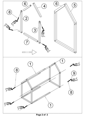 floor bed assembly instructions 2
