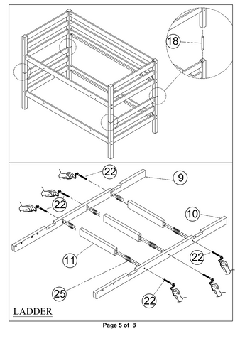 Bunk Bed with Slide 5