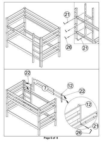 Bunk Bed with Slide 7