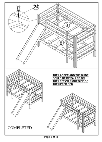 Bunk Bed with Slide 8