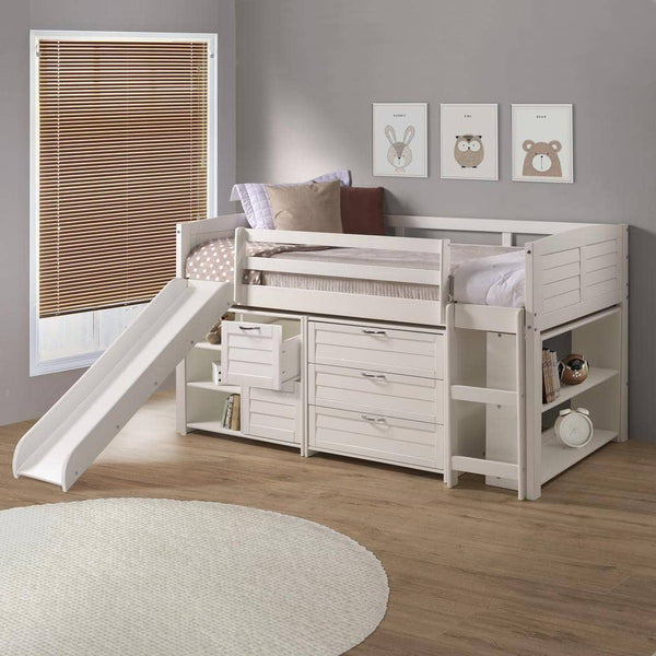 Adalyn Girls Bed with Slide Custom Kids Furniture