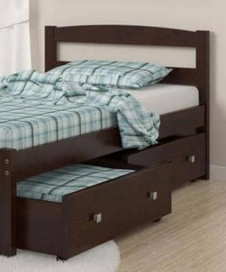 Adrian Twin Bed Frame with Storage Custom Kids Furniture