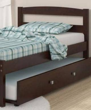Adrian Twin Bed Frame with Trundle Custom Kids Furniture
