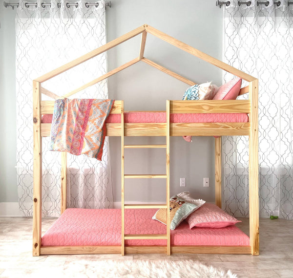 Aiden House Bunk Bed Custom Kids Furniture
