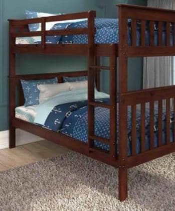 Andrew Cappuccino Full Bunkbed Custom Kids Furniture