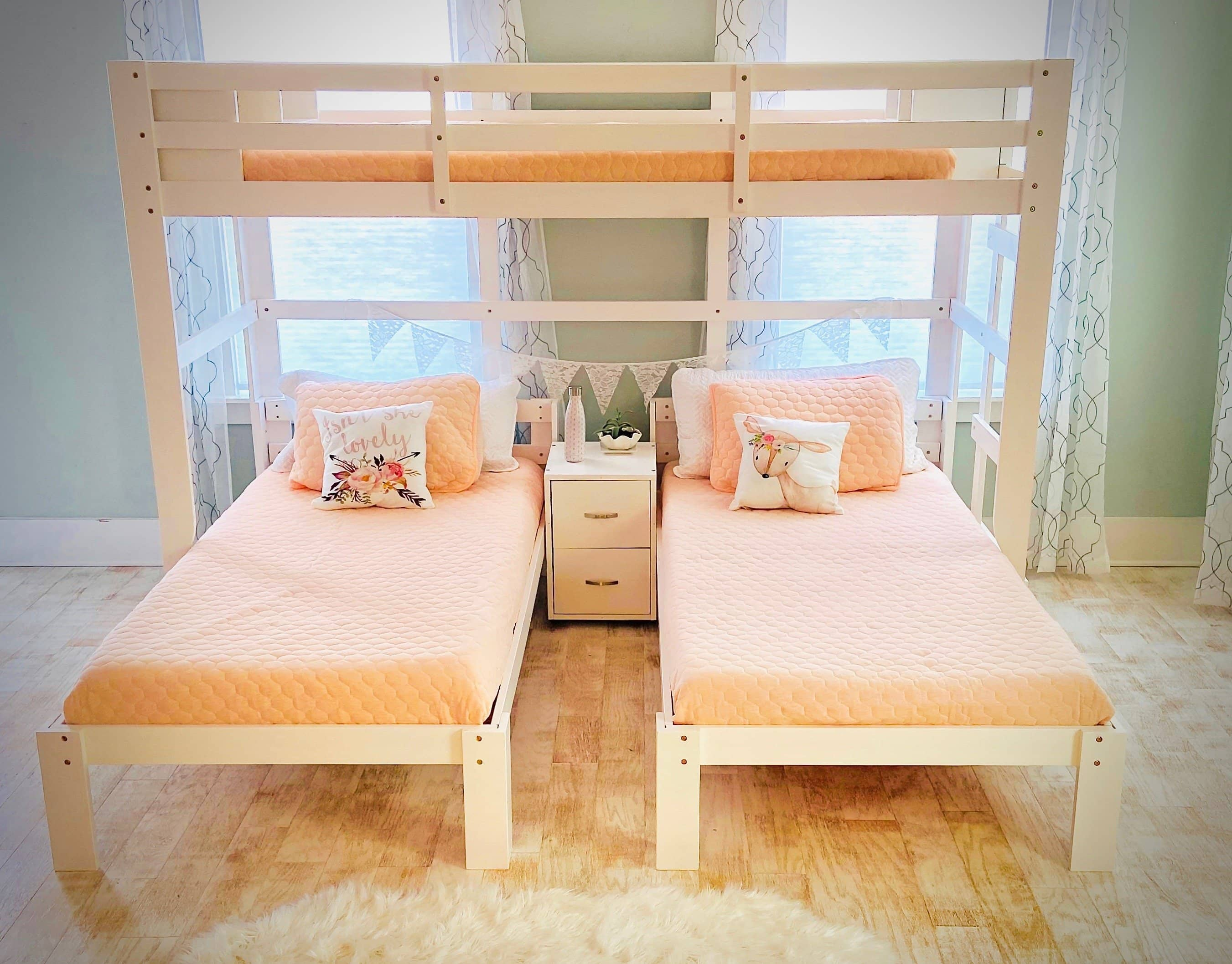 Picture of: Audrey Triple Bunk Bed Custom Kids Furniture