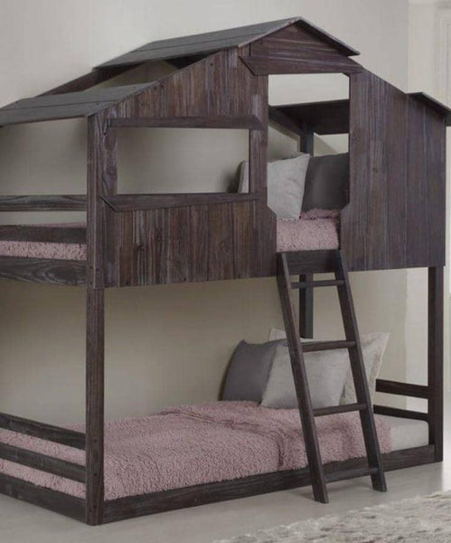Bear Cabin Bunk Bed for Kids Custom Kids Furniture