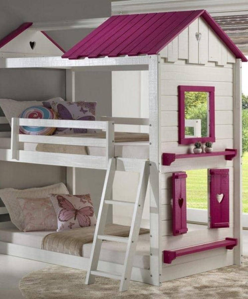 Birdie Cottage Bunk Bed Custom Kids Furniture