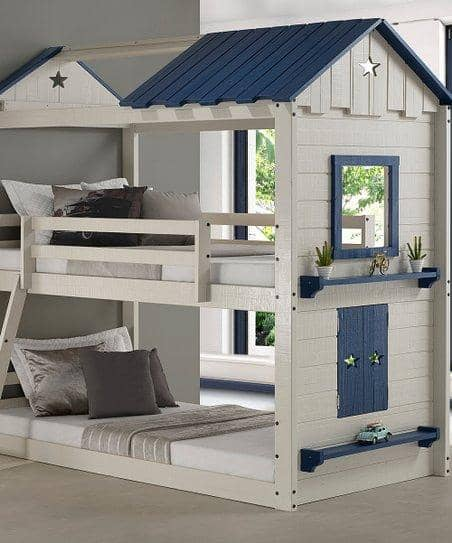 Branson House Bunk Bed Custom Kids Furniture
