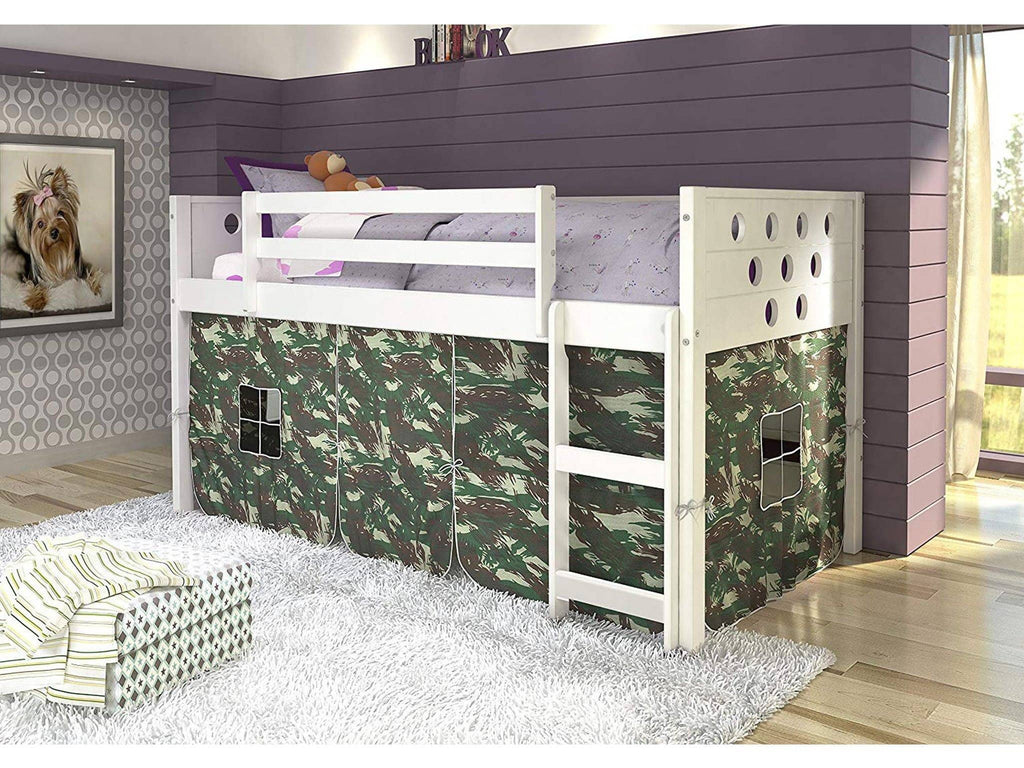 Christopher Camo Kid's Bed with Slide Custom Kids Furniture
