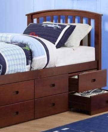 Christopher Twin Storage Bed Custom Kids Furniture