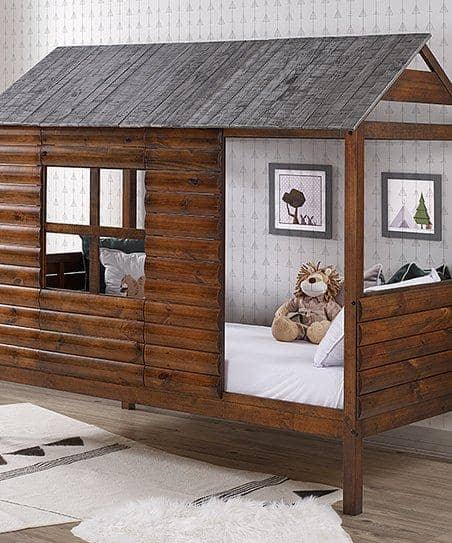 Cole Log Cabin Loft Bed Custom Kids Furniture