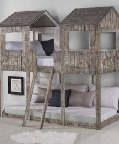 Colton Fort Bunk Bed Custom Kids Furniture