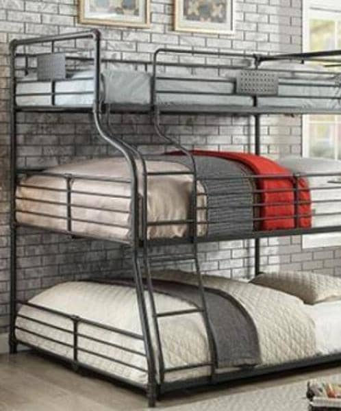 Damian Triple Bunk Bed Custom Kids Furniture