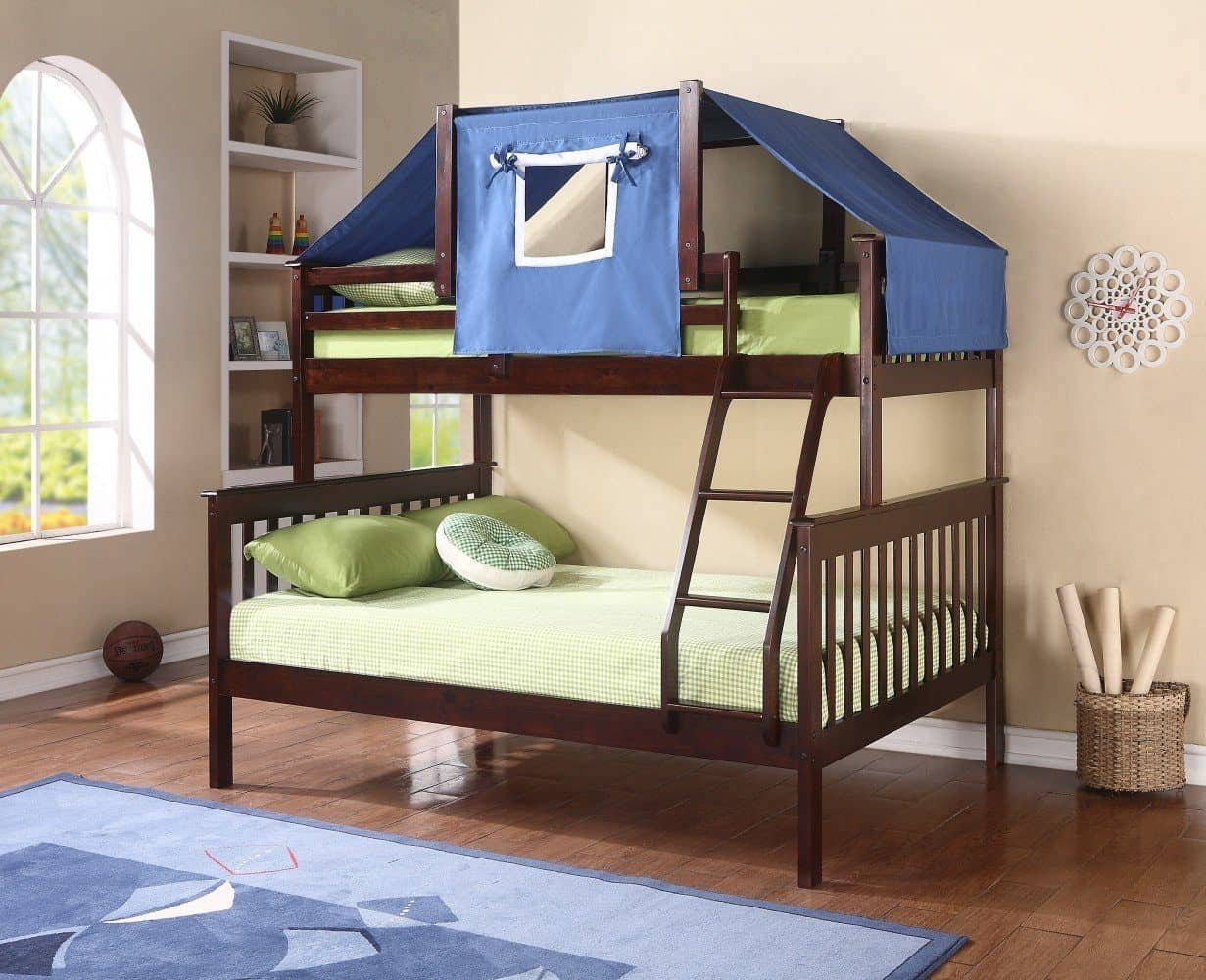 David Twin Over Full Fort Bunk Bed