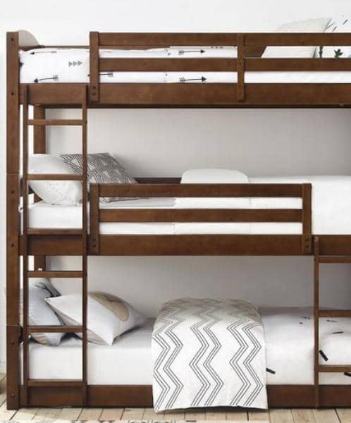 Dominic Triple Bunk Bed Custom Kids Furniture