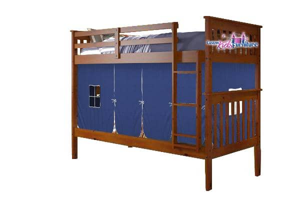 Elias Bunk Bed for Boys with Tent Custom Kids Furniture