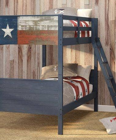 Ezra Texas Wooden Bunk Bed Custom Kids Furniture