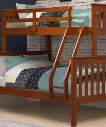 Jayden Espresso Twin over Full Bunk Bed Custom Kids Furniture