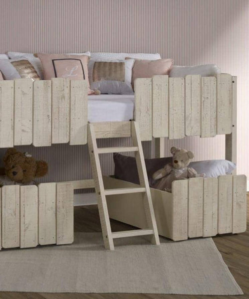 Leo Tree House Loft with Storage Custom Kids Furniture